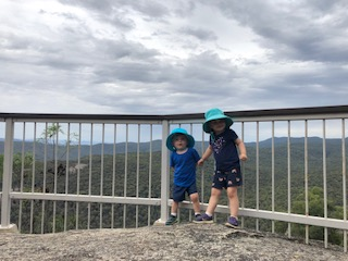 Our 2 little adventurers