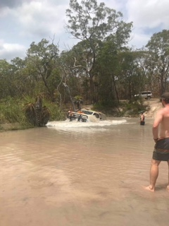The Infamous Logans Creek. Photo courtesy of Elise Facey
