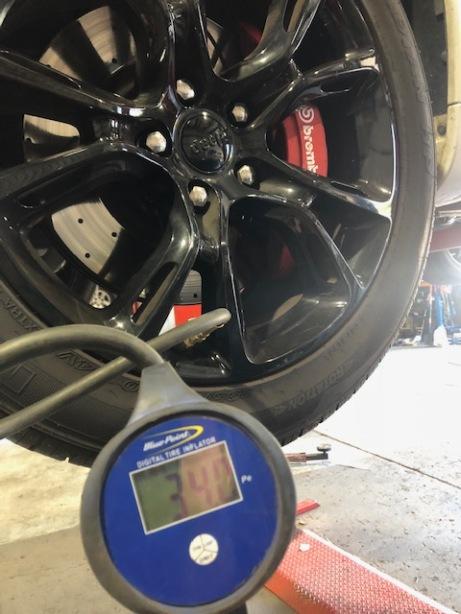 Tyre Pressure Check 2