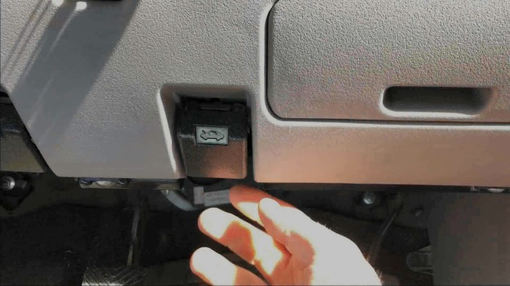 How to open your car's bonnet (hood) and fuel flap